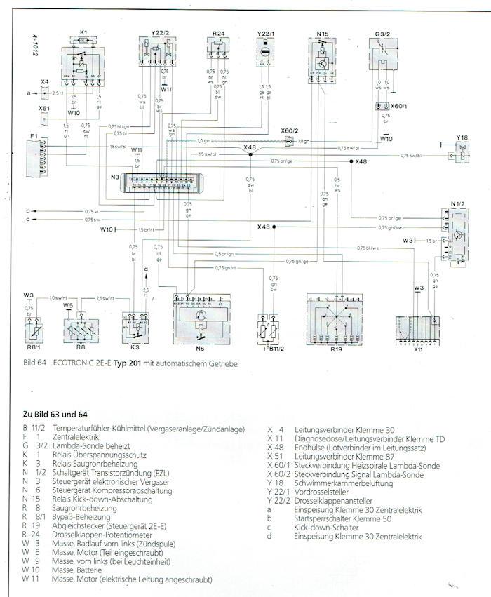 Tolle W124 Schaltplan Galerie - Die Besten Elektrischen Schaltplan ...